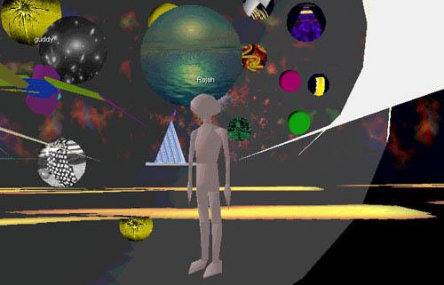 CyberForum desktop VR avatar virtual reality